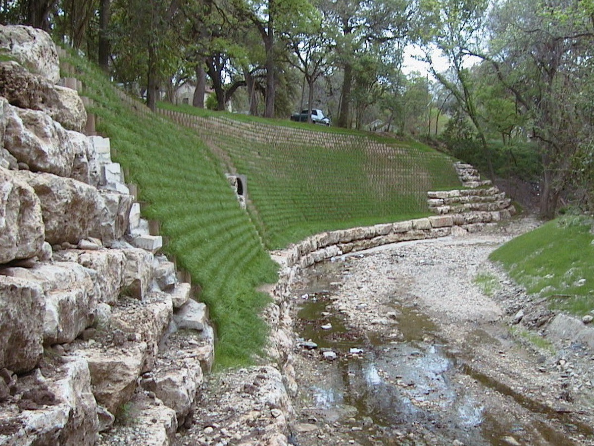 Vegetated Channel Walls