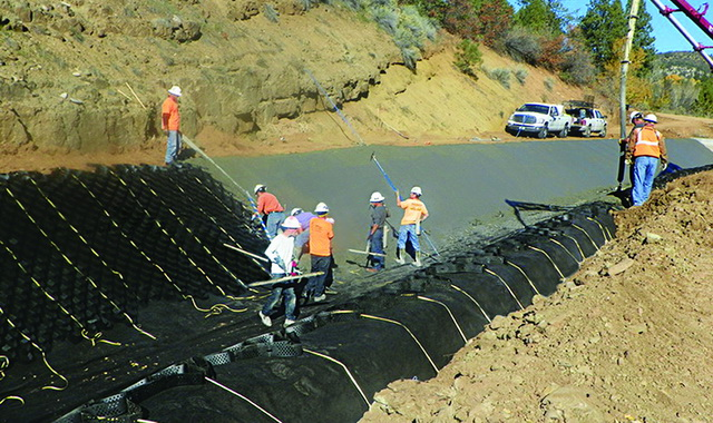 GEOWEB Channel Colorado Irrigation Canal | Presto Geosystems
